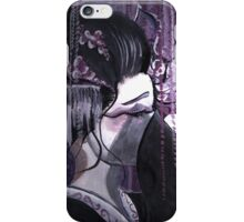 Geisha in Wisteria: The Timid Concubine iPhone Case/Skin