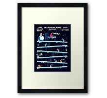 Adventure Kong Poster Framed Print