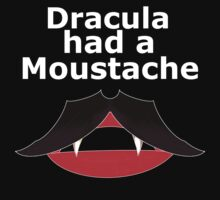 dracula had moustache by IanByfordArt