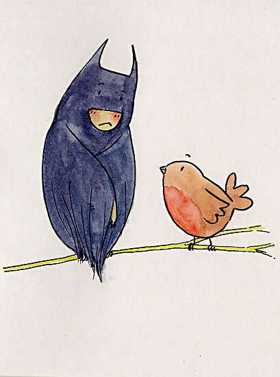 Batman and Robin by SendMeLetters