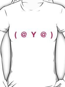 (  @  Y  @  ) : Ladies T-Shirt
