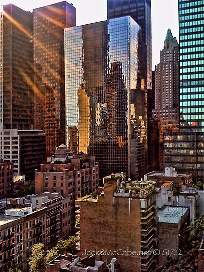 Good Morning Uptown Manhattan  by Jack McCabe