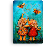 Forever Friends Blue Skies Canvas Print
