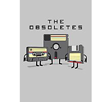 The Obsoletes (Retro Floppy Disk Cassette Tape) Photographic Print