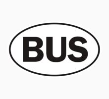 BUS - Oval Identity Sign by Ovals