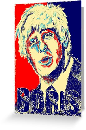 VOTE BORIS by Robin Brown