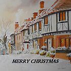 Christmas in Chilham Kent by Beatrice Cloake Pasquier