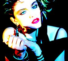 Madonna - Borderline - Pop Art by wcsmack