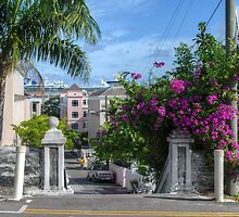Charlotte Street in Downtown Nassau, The Bahamas by 242Digital