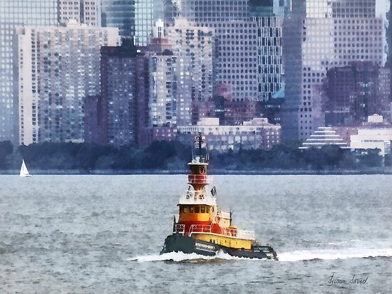 Tugboat Stephen Scott by Susan Savad