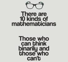 Maths - Binary - Funny by gemzi-ox
