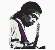 Jimi Hendrix by vssff