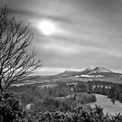 The Eildons, Scottish Borders by Iain MacLean