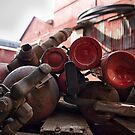 Extinguishers by Adam Northam