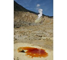 The Papandayan volcanic crater. West Java. Indonesia. Photographic Print