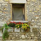 Stone Window Boxes In Eze by Fara