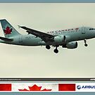 Air Canada Airbus 319 by Trenton Hill