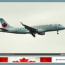 Air Canada Embraer 175 by Trenton Hill