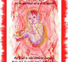 INCARNATION  Bible text  Christmas card or poster! by Shoshonan