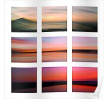3 seascapes Poster