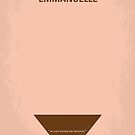 No160 My Emmanuelle minimal movie poster by Chungkong