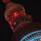 Fernsehturm Berlin - Festival of Lights 2012 by Sinuhé Bravo Photography