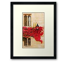 Autumn in Oxford Framed Print