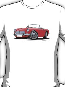 MG B Roadster Red T-Shirt