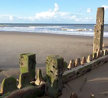 Mundesley Beach III, Norfolk, England by Richard J. Bartlett