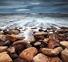 On Golden Rocks II by Andy Freer
