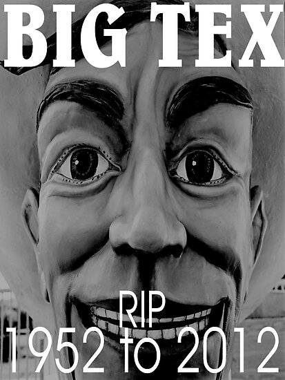 RIP BIG TEX  by BUB THE ZOMBIE