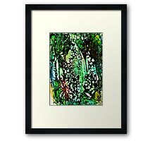 Darkness Overcomes Color Framed Print