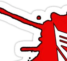 Deceptisplat Sticker
