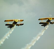 Trig Aerobatic Team  by mike  jordan.