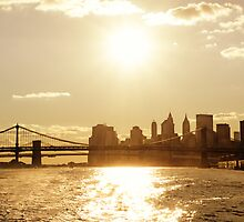 Sunset - New York City by Vivienne Gucwa