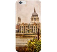 View on St Paul`s Cathedral  iPhone Case/Skin