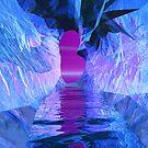 Blue Melt III - Inside The Fissure by Hugh Fathers