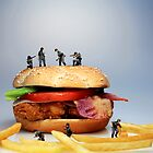 War on a Hamburger II by Paul Ge