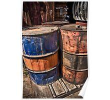 Barrels Poster
