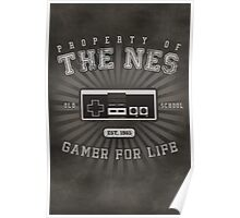 Property of NES (REMIX) Poster