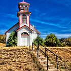 OLD CHURCH IN COLORADO by Joe Saladino