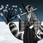 Snow Leopard Samurai by The-Librarian