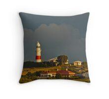Low Head Lighthouse Tasmania Throw Pillow