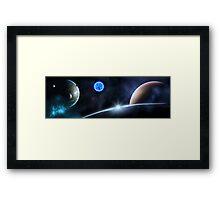 in Space Framed Print