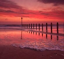 Fiery, The Angels Rose - Blyth Beach by Simon Lowe