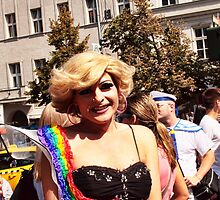 Prague pride 2013 - the Blonde by brijo
