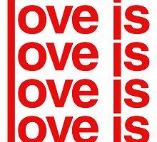 Love is Love by AlliVanes