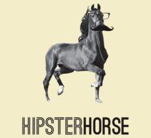 Hipster Horse by Vladyslav Varvanin
