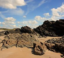 Rosbeg Rocks by Adrian McGlynn