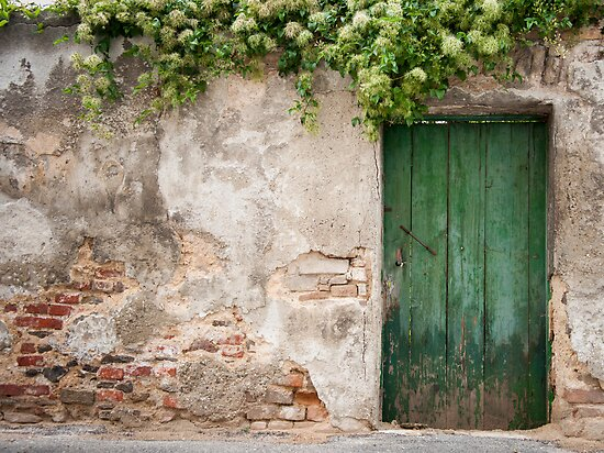 Krems: The Green Door by Jacinthe Brault